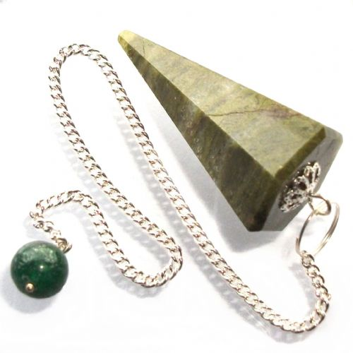 Vesuvianite Idocrase Pendulum Scrying Point